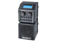 Slim 3 Fm Rds Antraciet - Dab+ - Bluetooth - Usb/Sd - Aux-In - Oplaadbaar (Incl. Batterijen)