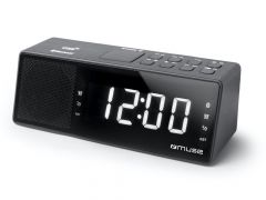 Muse M172Bt Clock Bluetooth Dual Alarm Usb