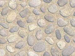 Joyfix Platte Ronde Steen Cement  0,45X2M