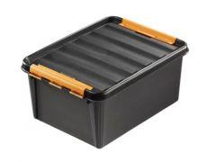 Orthex Smartstore Pro 15 Box Met Deksel 40X30X19 Cm Zwart