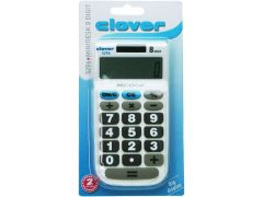 Clover Pocket Big Display 8 Digit Op Blister