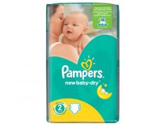 PAMPERS NR2 NEW BABY 70ST