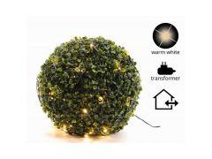 K Led Netverlichting Buxus Buiten Groen/Warm Wit D35Cm 60L