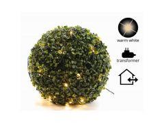 K Led Netverlichting Buxus Buiten Groen/Warm Wit D50Cm 80L