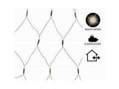 K Led Netverlichting Buiten Zwart/Warm Wit 1X4.8M 360L