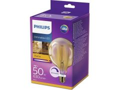 Philips Lamp Ledclassic 50W G120 E27 2200K Gold D
