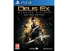 PS4 Deus Ex-Mankind Divided D1 E