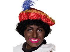 Baret Zwarte Piet Rood
