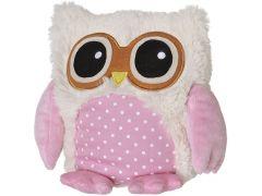Warmie Owl Pink