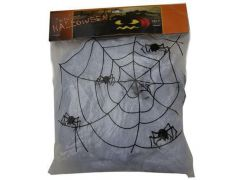 Spinneweb Wit 100G + 4 Spin