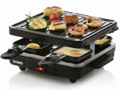 Domo Do9147G Raclette-Grill Just Us 4 Personen 600W