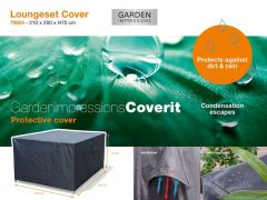 Coverit Loungeset Hoes 210X200Xh70Cm