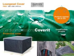 Coverit Loungeset Hoes 305X305Xh70Cm