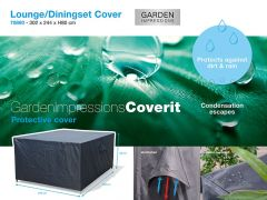 Coverit Lounge/Dining Hoes 302X244Xh80Cm