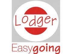 Lodger Bunker Voetenzak Polyester Print Coal