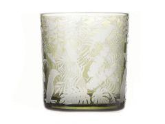 T-Lichth Tropic Glas Groen D7X8Cm