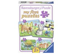 P My First Puzzle 2,4,6,8 Schattige Huisdieren