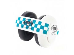 White Em S 4 Bubs Blue/White Gehoorbeschermers