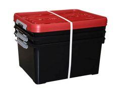 Handy Plus 35L Zwart/Rood Set Van 3St.