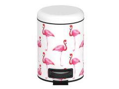 Wenko Afvalemmer Flamingo 3L
