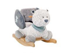 Lea, Loulou & Hippolyte Schommelpaard Sneeuwluipaard Lea