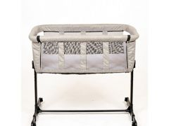 Quax Co-Sleeper Linen Grey
