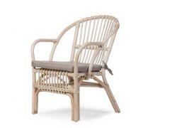 Montana Kid Chair Natural + Cushion