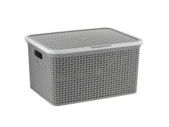 Storage Box Rio Grey/White