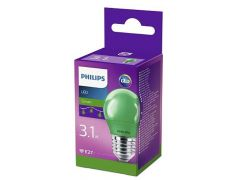 Philips Lamp Led Colored P45 E27 Green 1Srt4