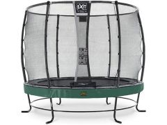 Exit Elegant Premium Trampoline 251Cm + Safetynet Deluxe Green