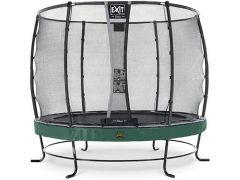 Exit Elegant Premium Trampoline 305Cm + Safety Net Deluxe Green