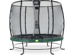 Exit Elegant Trampoline 251Cm + Safetynet Deluxe Green