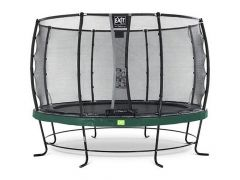 Exit Elegant Trampoline 427Cm + Safetynet Deluxe Green