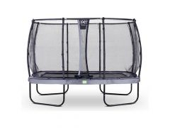 Exit Elegant Trampoline Rect. 214X366Cm + Safetynet Deluxe Grey