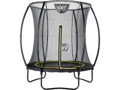 Exit Silhouette Trampoline + Safetynet 183Cm Black
