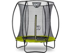 Exit Silhouette Trampoline + Safetynet 183Cm Lime