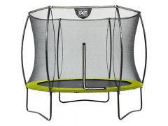 Exit Silhouette Trampoline + Safetynet 244Cm Lime