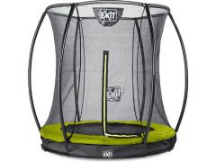 Exit Silhouette Ingraaf Trampoline + Safetynet 183Cm Lime