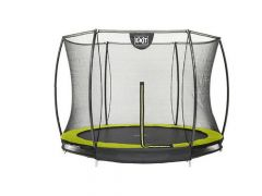 Exit Silhouette Ingraaf Trampoline + Safetynet 244Cm Lime