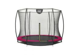 Exit Silhouette Ingraaf Trampoline + Safetynet 305Cm Pink