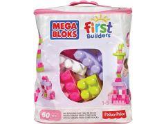 Mega Bloks First Builders Grote Bouwtas 60 Blokken Roze