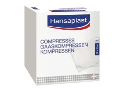 Hansaplast Compresses Douces / Zachte Gaaskompressen - 50Pcs