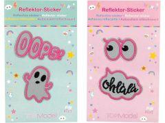 Top Model Sticker Set Reflecterend