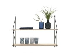 Frida Double Shelf H44.5Xd16Xw60Cm
