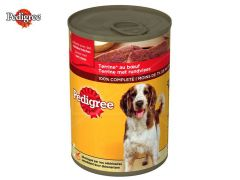 Pedigree blik terrine rund 400gr