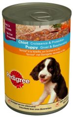 Pedigree blik junior terrine gevogelte 400gr