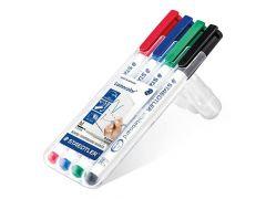 Lumocolor Whiteboard Pen Box 4 Stuks