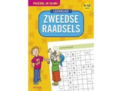 Puzzel Je Slim! - Leerrijke Zweedse Raadsels (9-10 J.)