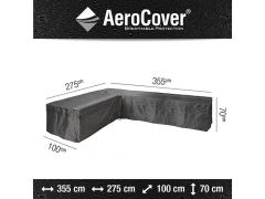 Aerocover Lounge Set Hoes L-Vorm 355X275X100Xh70 Links