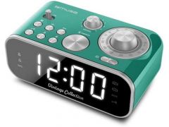 Muse M 18 Crg Vintage Clock Radio Green Finish